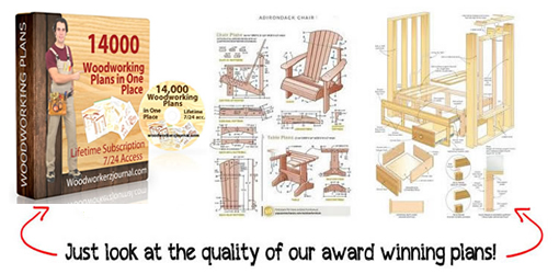 14000 Woodworking Plans in One Place